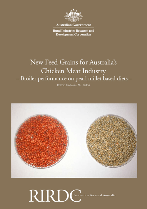 New Feed Grains for Australia's Chicken Meat Industry – Broiler Performance on Pearl Millet Based Diets - image