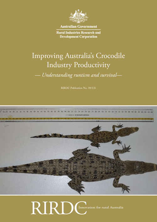 Improving Australia's Crocodile Industry Productivity Understanding runtism and survival - image