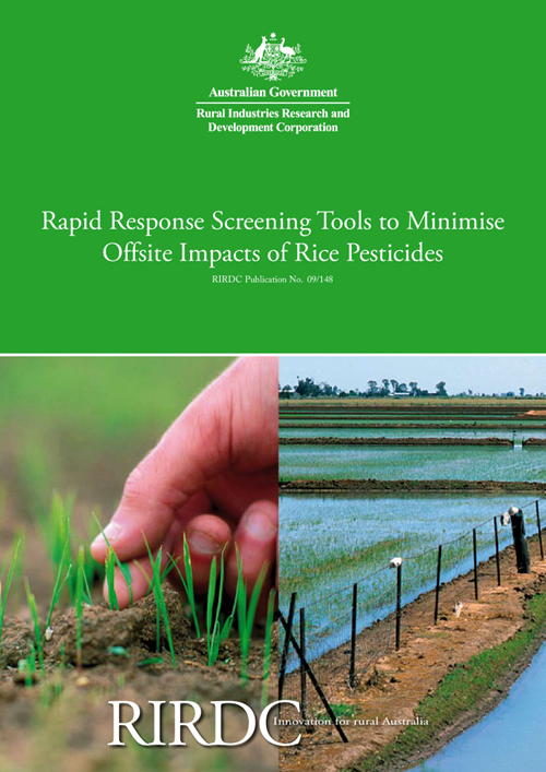 Rapid Response Screening Tools to Minimise Offsite Impacts of Rice Pesticides - image