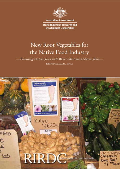 New Root Vegetables for the Native Food Industry: - image