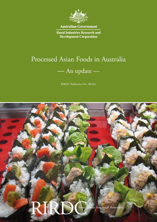 Processed Asian Foods in Australia  - An update - image