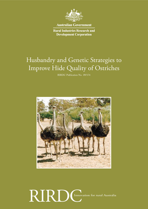 Husbandry and Genetic Strategies to Improving Hide Quality of Ostriches - image