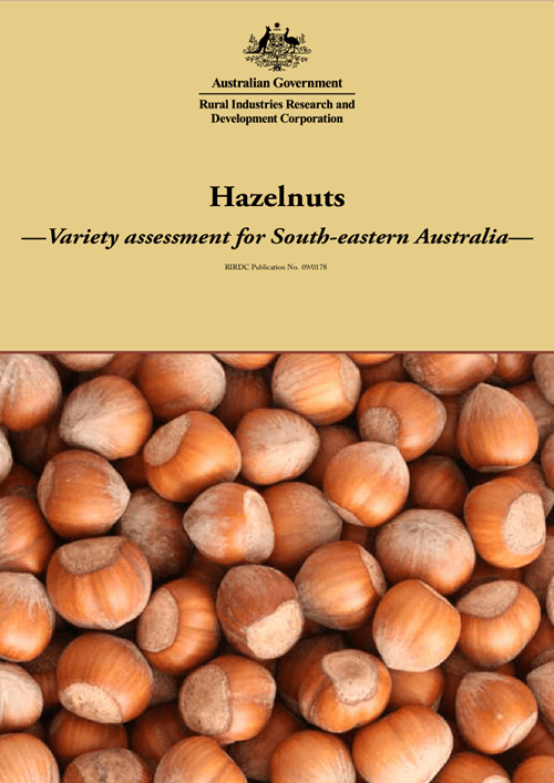 Hazelnuts: Variety assessment for South-eastern Australia - image