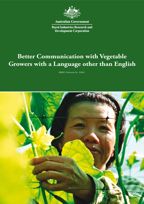 Better Communication with Vegetable Growers with a Language other than English - image