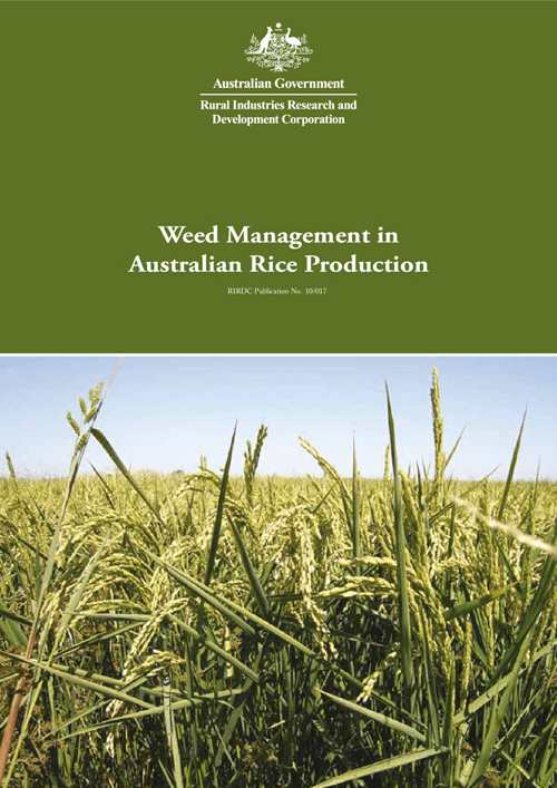Weed Management in Australian Rice Production - image