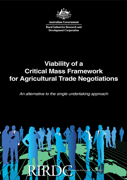 Viability of a Critical Mass Framework for Agricultural Trade Negotiations - image