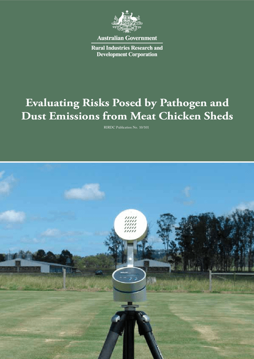 Evaluating Risks Posed by Pathogen Emissions from Meat Chicken Sheds - image