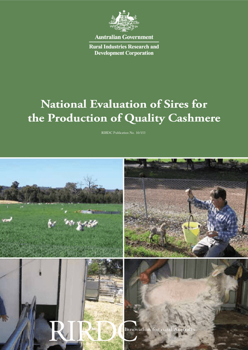 National Evaluation of Sires for the Production of Quality Cashmere - image