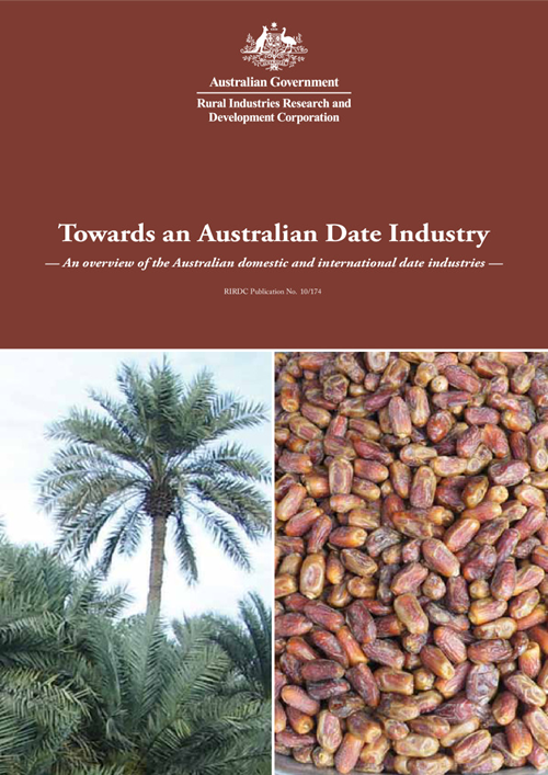 Towards an Australian Date Industry: An overview of the Australian domestic and international date industries - image
