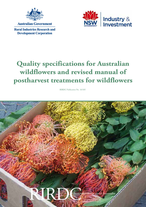 Quality Specifications for Australian Wildflowers and Revised Manual of Postharvest Treatments for Wildflowers - image