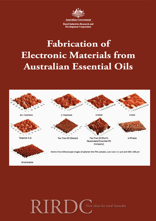 Fabrication of Electronic Materials from Australian Essential Oils - image