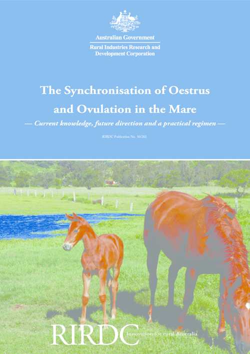 The Synchronisation of Oestrus and Ovulation in the Mare: Current knowledge, future direction and a practical regimen - image