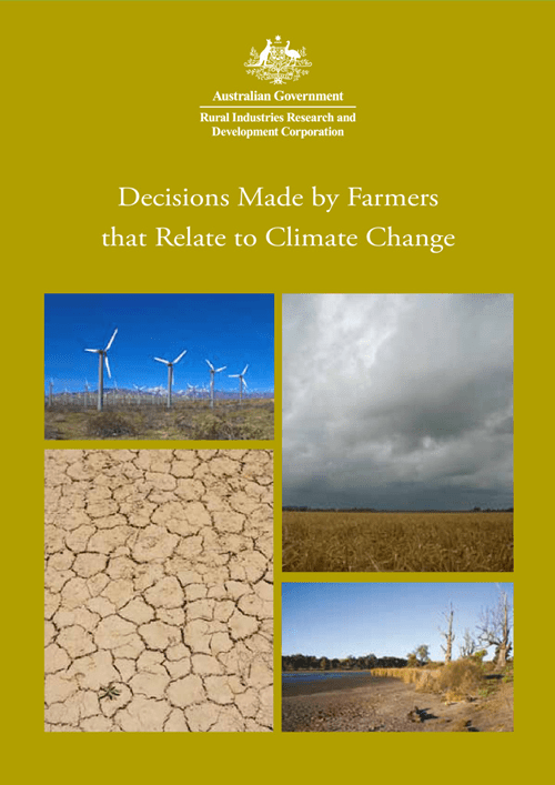 Decisions Made by Farmers that Relate to Climate Change - image