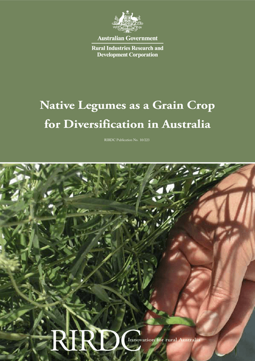 Native Legumes as a Grain Crop for Diversification in Australia - image