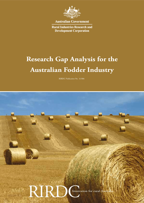 Research Gap Analysis for the Australian Fodder Industry - image