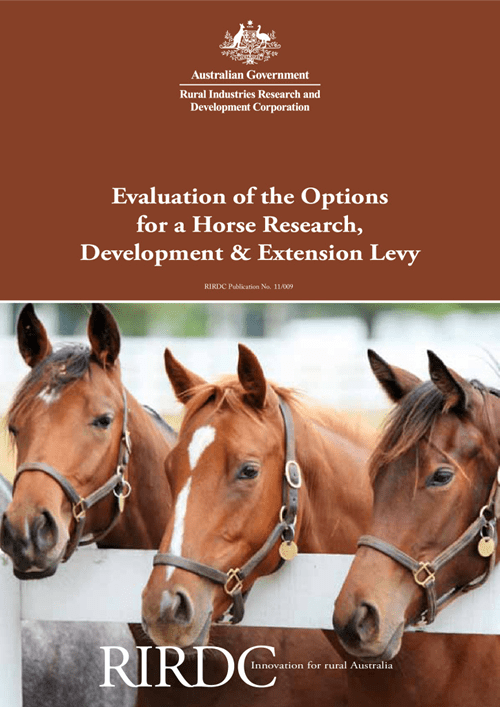 Evaluation of Options for a Horse R&D Levy - image