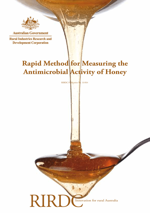 Rapid Method for Measuring the Antimicrobial Activity of Honey - image