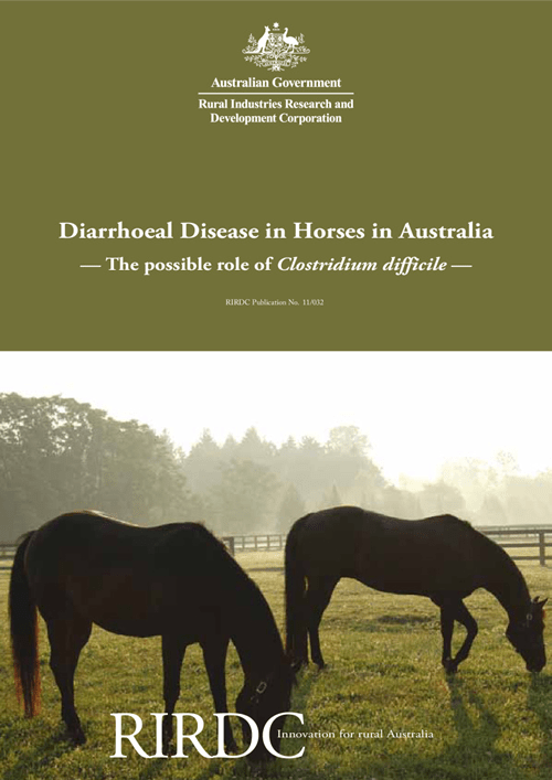 Diarrhoeal Disease in Horses in Australia: The possible role of Clostridium difficile - image