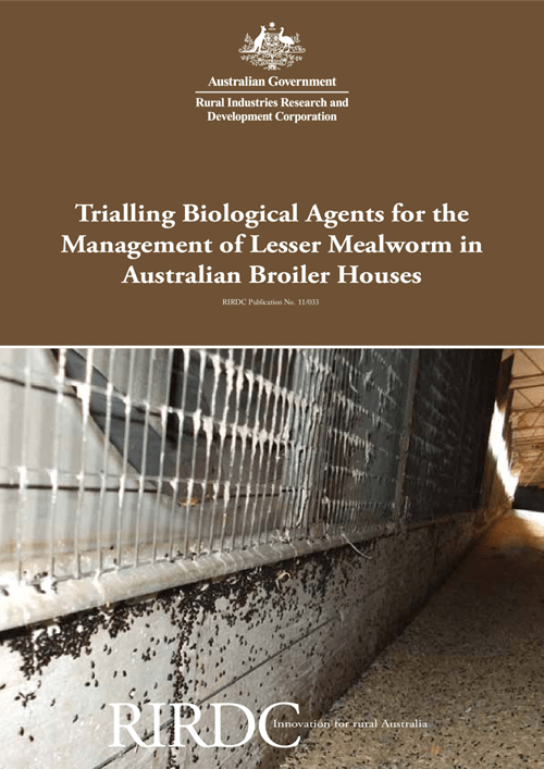 Trialling Biological Agents for the Management of Lesser Mealworm in Australian Broiler Houses - image
