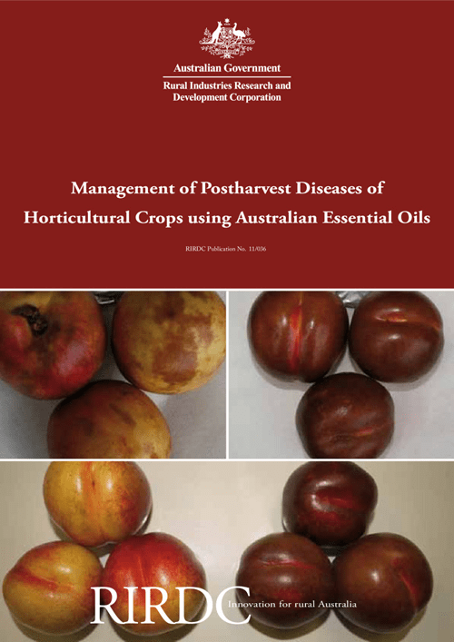 Management of Postharvest Diseases of Horticultural Crops using Australian Essential Oils - image