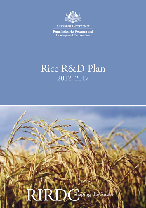 Rice R&D Plan 2012–2017 - image