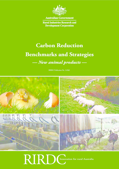 Carbon Reduction Benchmarks and Strategies: New animal products - image