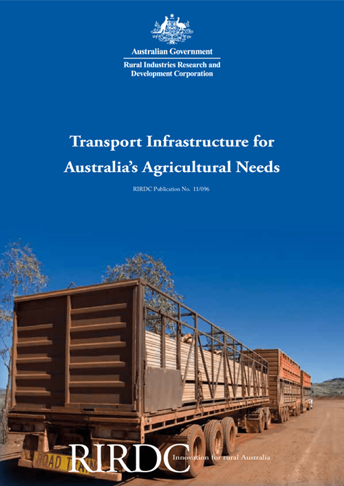Transport Infrastructure for Australia's Agricultural Needs - image
