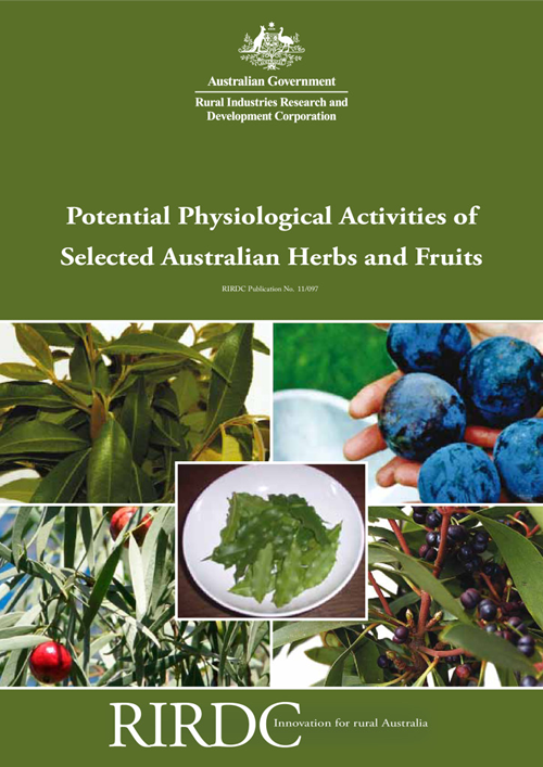 Potential Physiological Activities of Selected Australian Herbs and Fruits - image