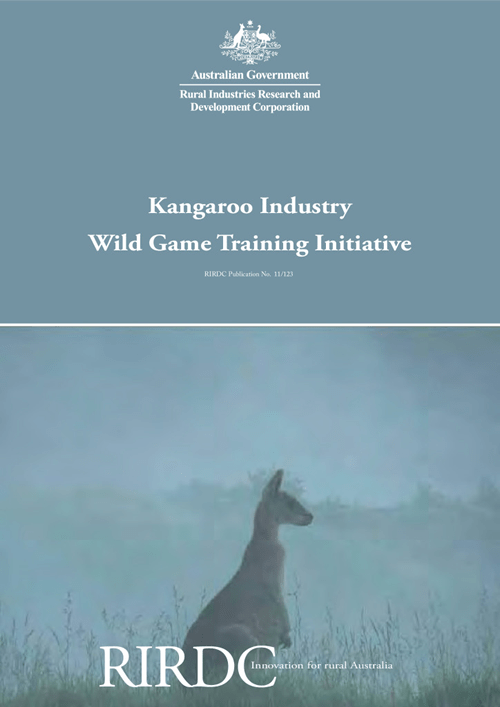 Kangaroo Industry Wild Game Training Initiative - image