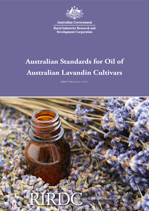 Australian Standards for Oil of Australian Lavandin Cultivars - image