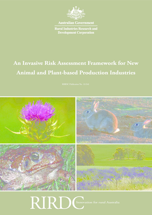 An Invasive Risk Assessment Framework for New Animal and Plant-based Production Industries - image