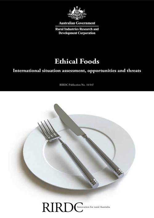 Ethical Foods: International situation assessment, opportunities and threats - image