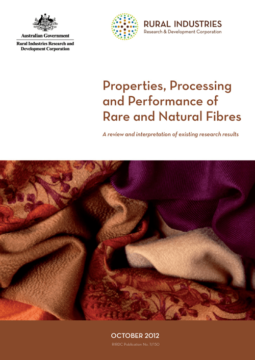 Properties, Processing and Performance of Rare and Natural Fibres: A review and interpretation of existing research results - image