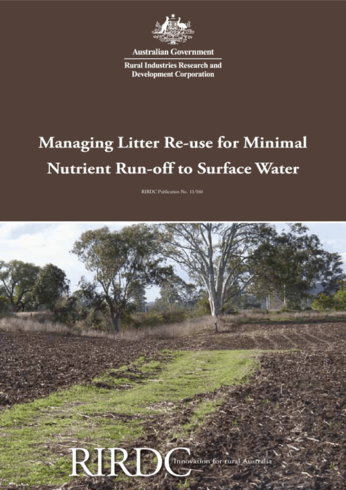 Managing Litter Re-use for Minimal Nutrient Run-off to Surface Water - image
