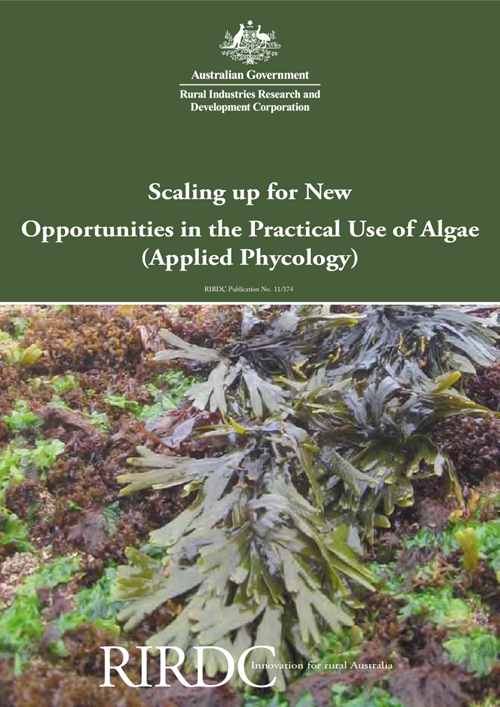 Scaling up for New Opportunities in the Practical Use of Algae (Applied Phycology) - image