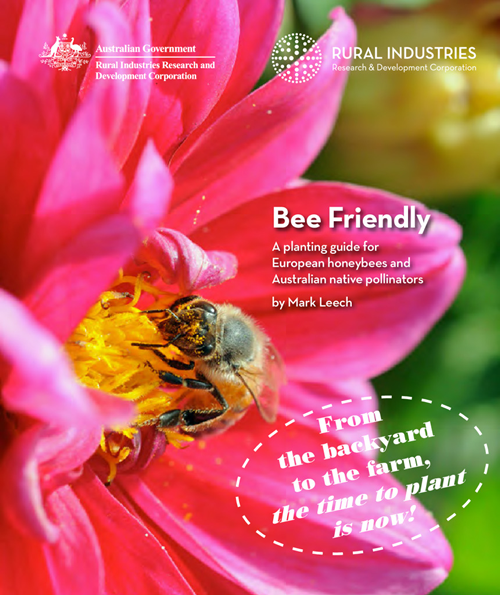Bee Friendly: A planting guide for European honeybees and Australian native pollinators - image