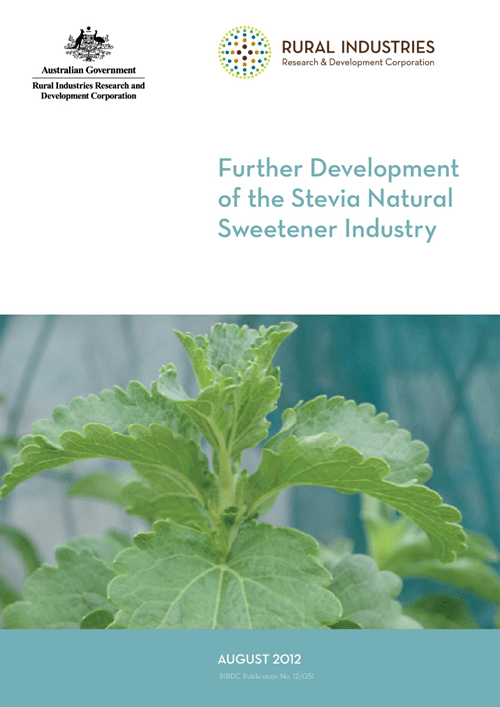 Further Development of the Stevia Natural Sweetener Industry - image