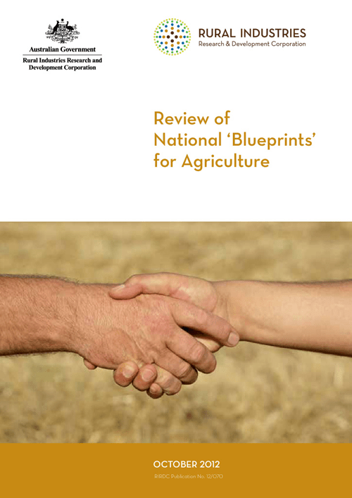 Review of National 'Blueprints' for Agriculture - image
