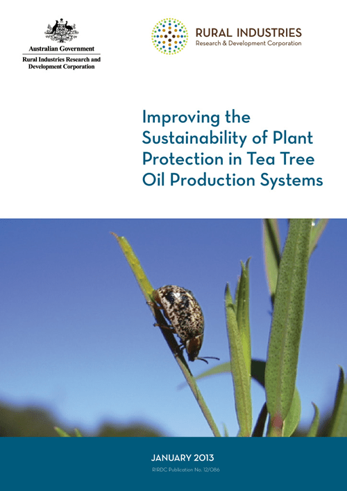 Improving the Sustainability of Plant Protection in Tea Tree Oil Production Systems - image