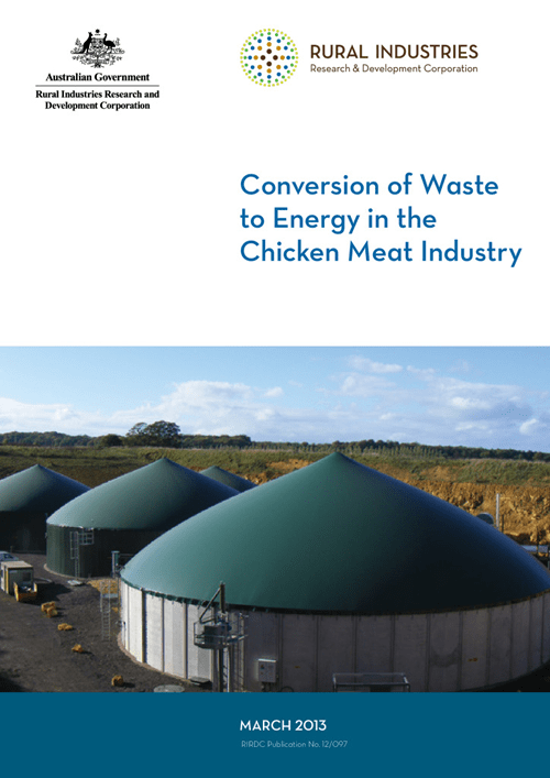 Conversion of Waste to Energy in the Chicken Meat Industry - image