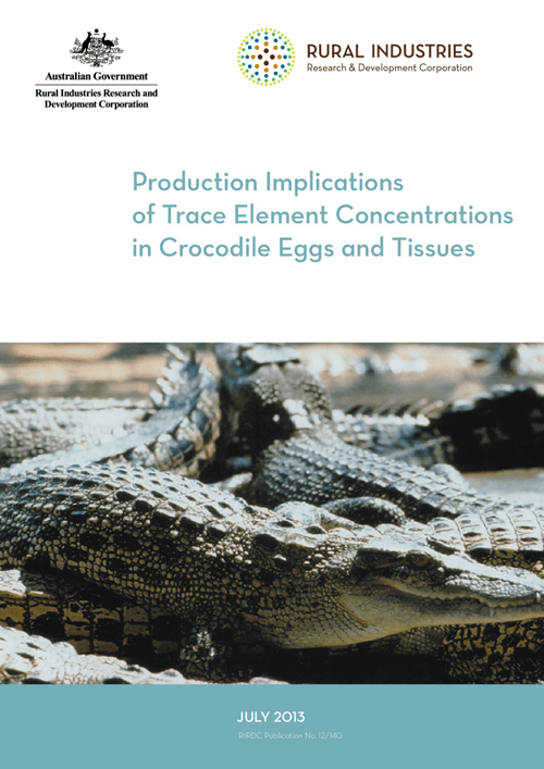 Production Implications of Trace Element Concentrations in Crocodile Eggs and Tissues - image