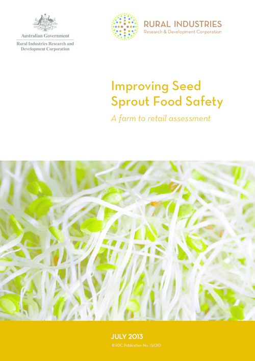 Improving Seed Sprout Food Safety: A farm to retail assessment - image