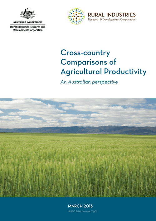 Cross-country Comparisons of Agricultural Productivity - image