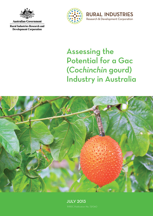 Assessing the Potential for a Gac (Cochinchin gourd) Industry in Australia - image