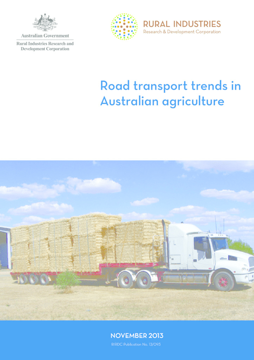 Road transport trends in Australian agriculture - image