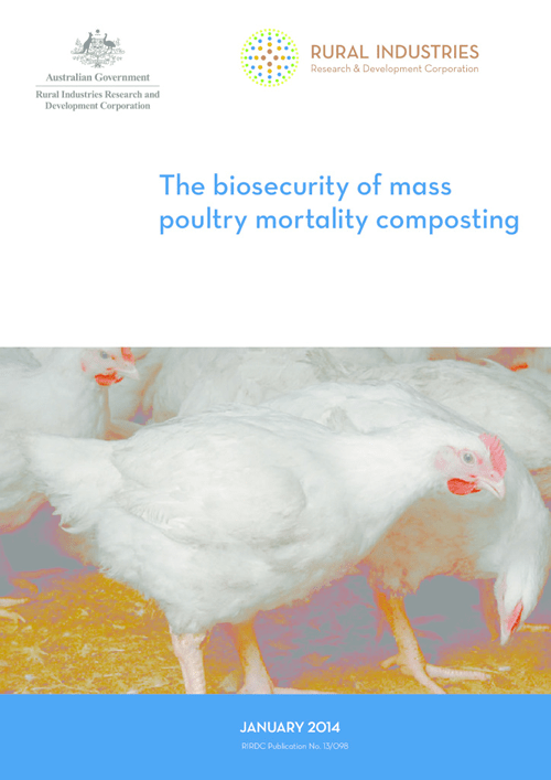The biosecurity of mass poultry mortality composting - image