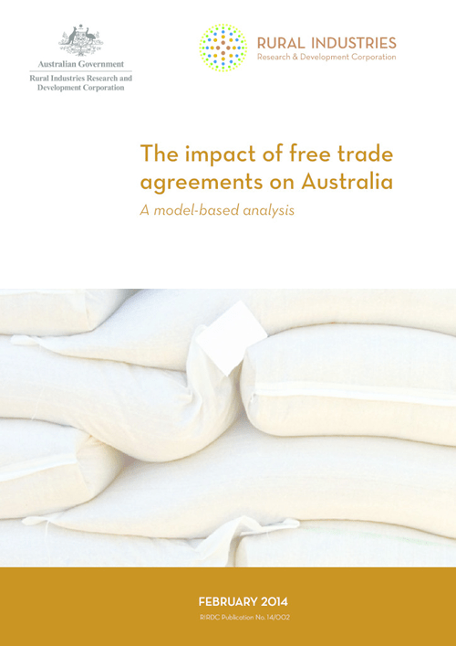 The impact of free trade agreements on Australia - A model-based analysis - image