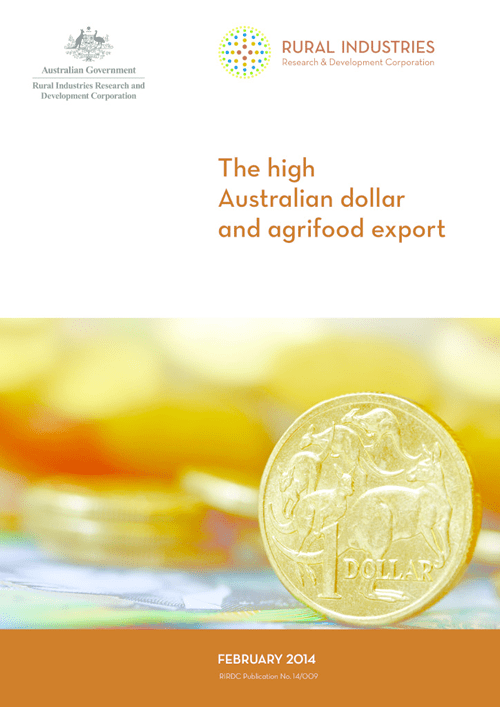 The high Australian dollar and agrifood export - image