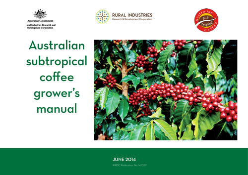 Australian subtropical coffee grower's manual - image