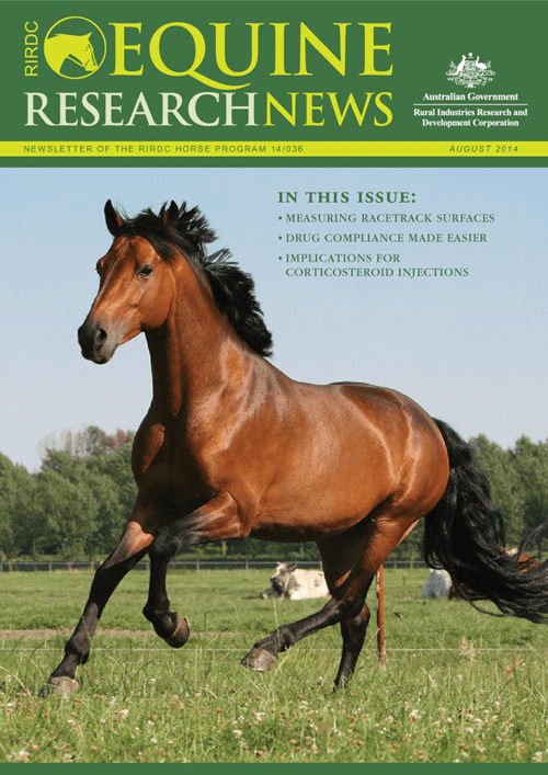 Equine Research News - August 2014 - image